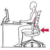La ergonomía en la oficina para sentirte comoda