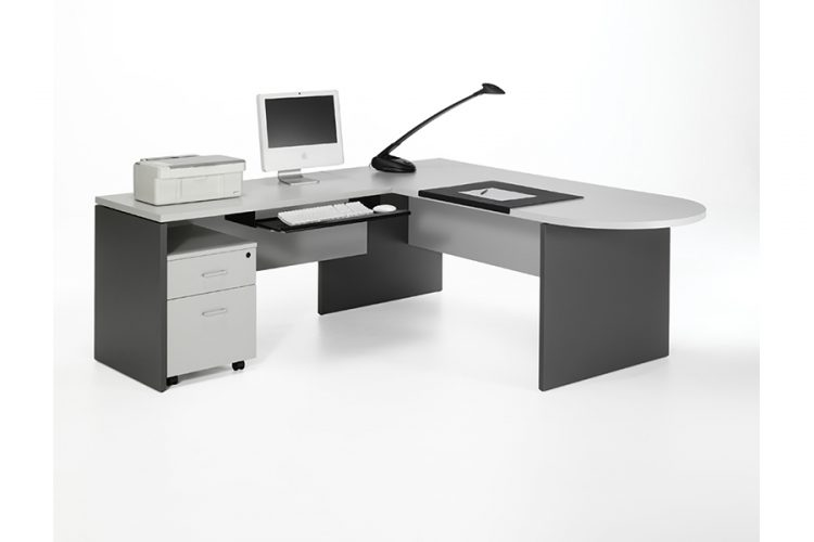 Mesa y puestos de trabajo serie Basica