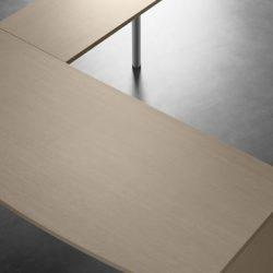 mesa block con ala y pata soporte