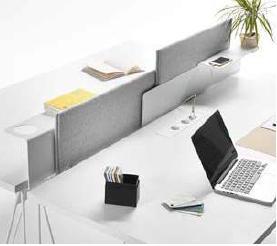 Separador de aluminio mesas let´s work