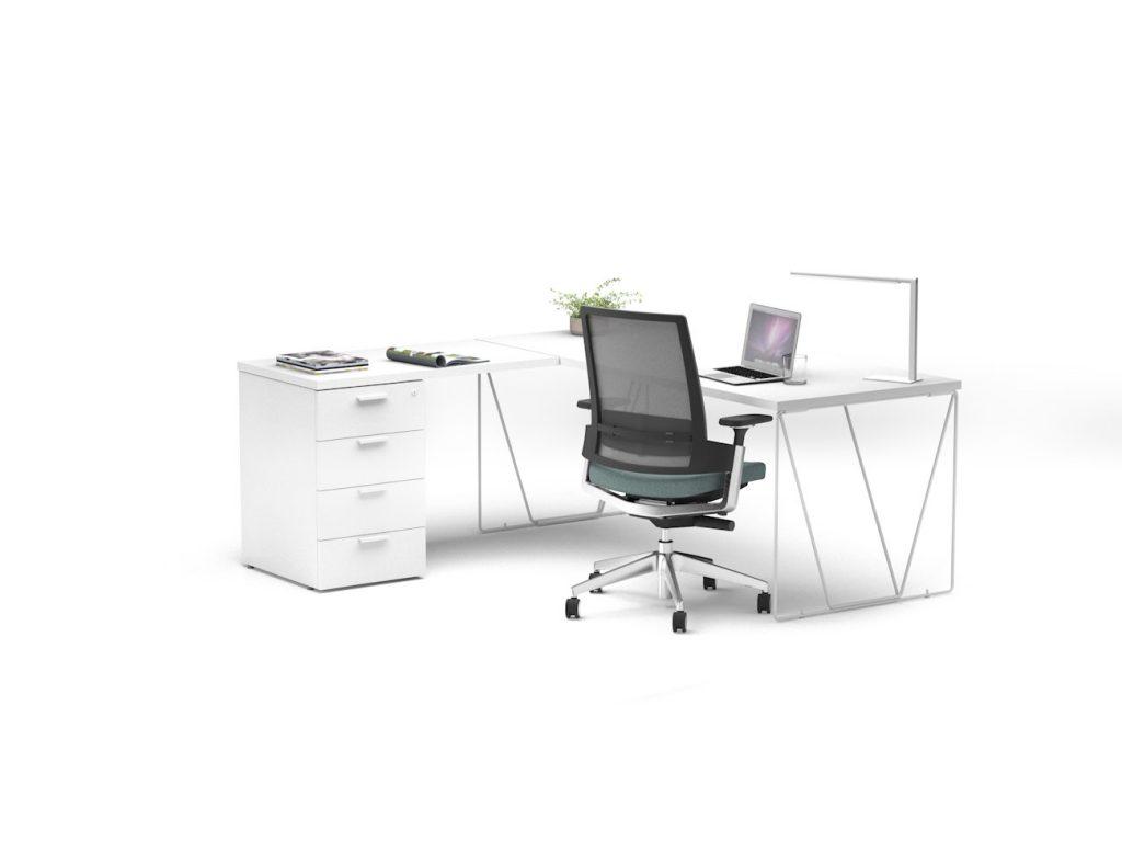 Mesas Let´s Work puesto individual
