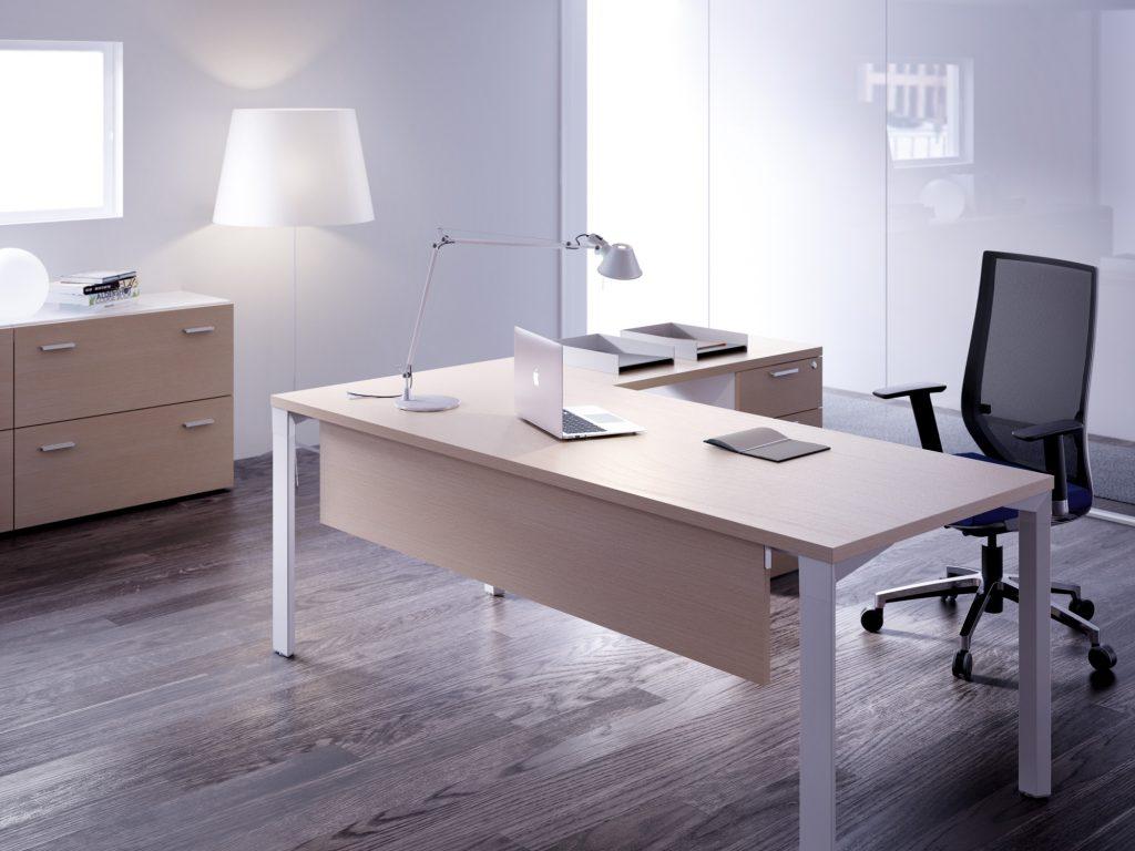 Mesas logo operativas arce estructura blanca