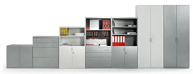 Conjunto armarios y archivos de la serie mobility en varias combinaciones