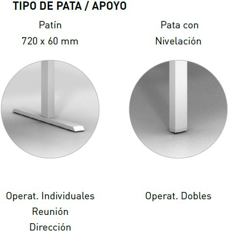 pata mobility step regulable en altura patas