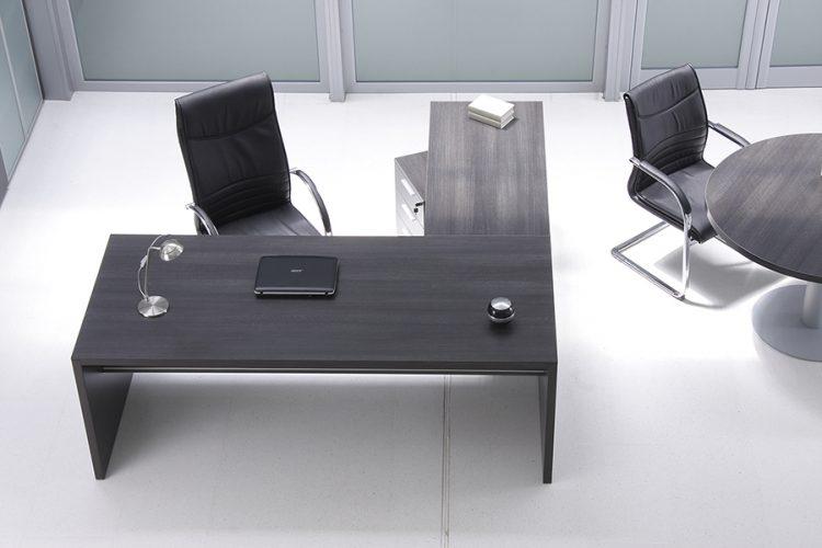 Mesa pannel despacho de dirección madera con ala