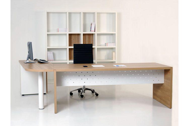 Mesa pannel despacho de dirección madera