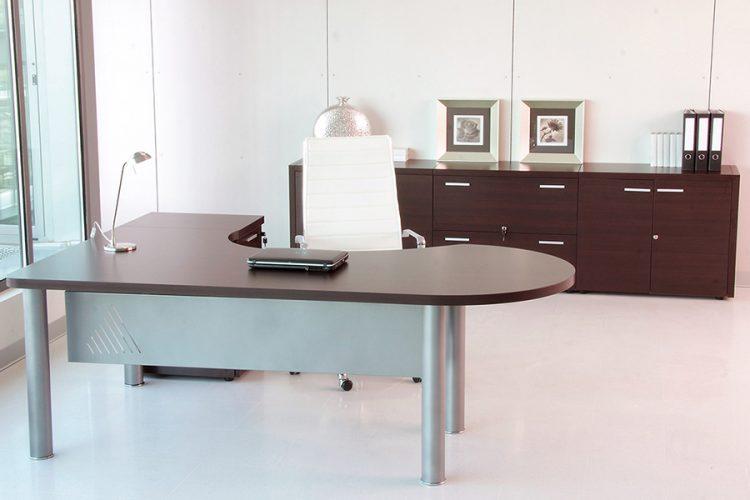 Mesas de dirección duo bcon auxiliar y mesa de juntas