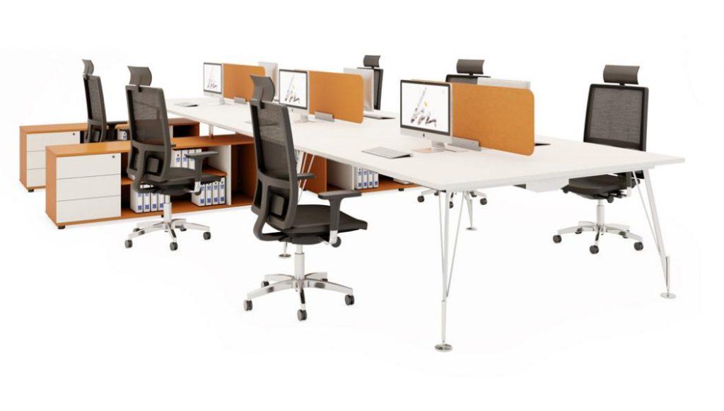 Mesas dirección Heos conjunto operativo