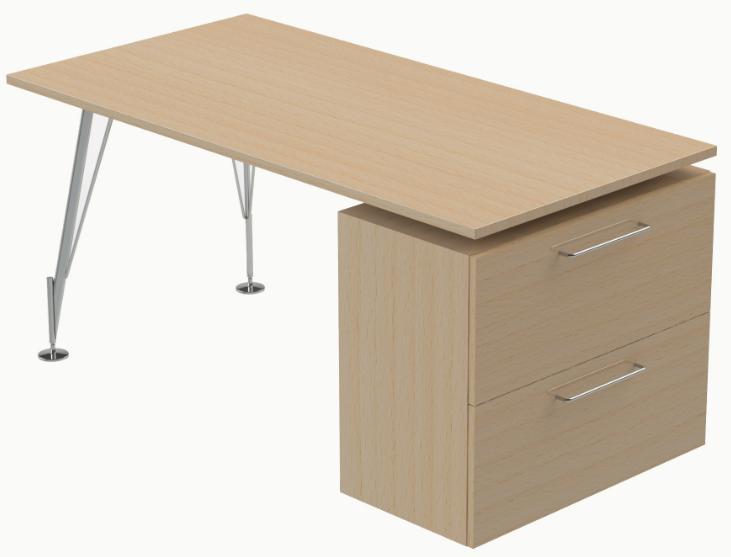Mesa y mueble auxiliar mesa serie heos