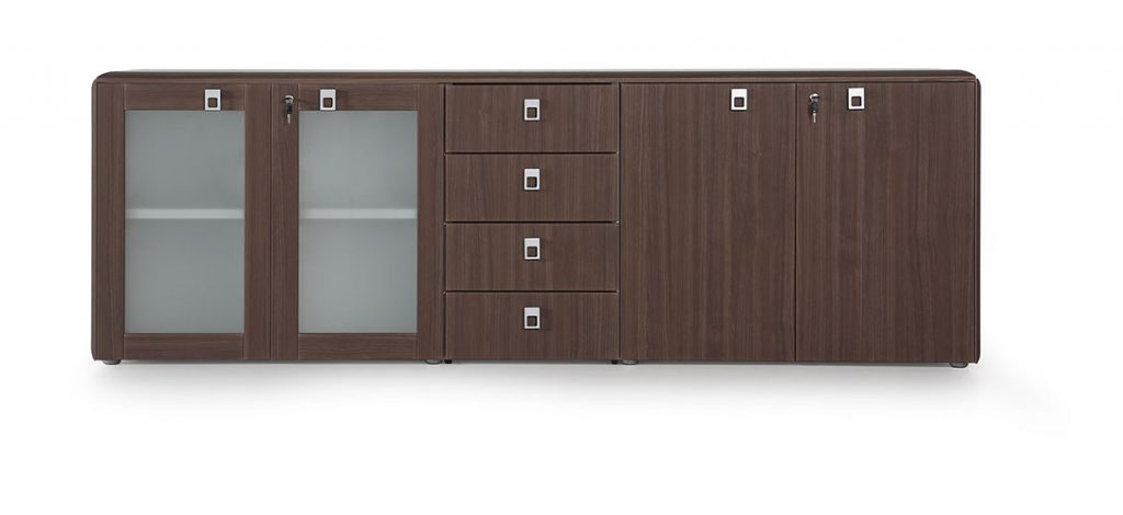 Armarios y archivos con diferentes combinaciones para despachos de dirección