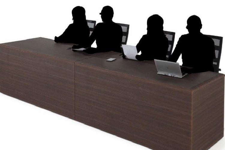 Mesas operativas y de conferencia serie líder