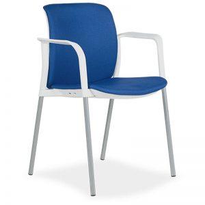 Silla Zoe F tapizado asiento y respaldo