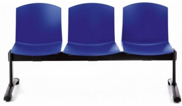 Bancada Cloe de 3 asientos
