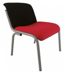 Butaca Palma asiento y respaldo tapizado 2 tonos