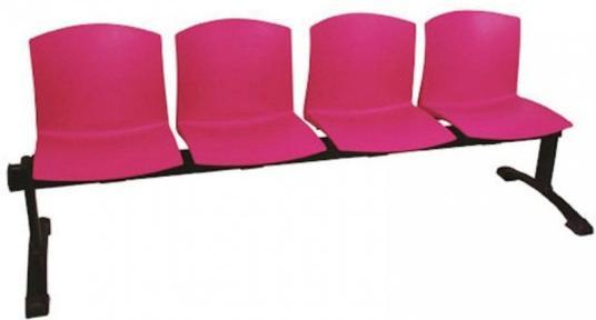 Bancada Cloe de 4 asientos