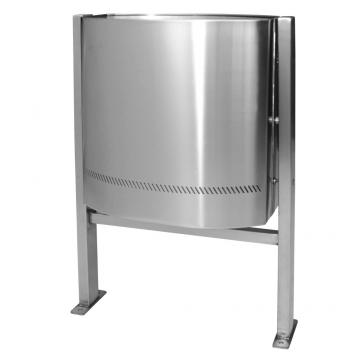 Papelera 114-1 para exteriores en acero accesorios
