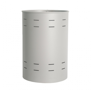 Papelera 160 color gris