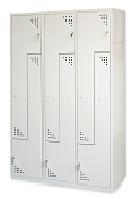 Taquillas metálicas puerta L modular