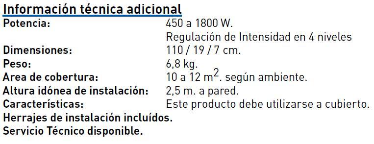 M9310 características tecnicas
