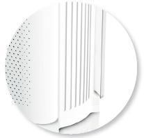 PURIFICADORES DE AIRE Entradas de aire para purificador ap25