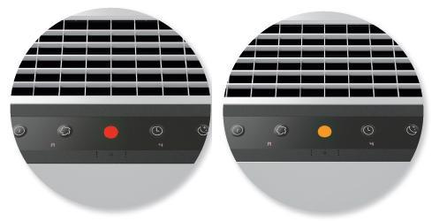 Purificadores de aire filtro Hepa botones
