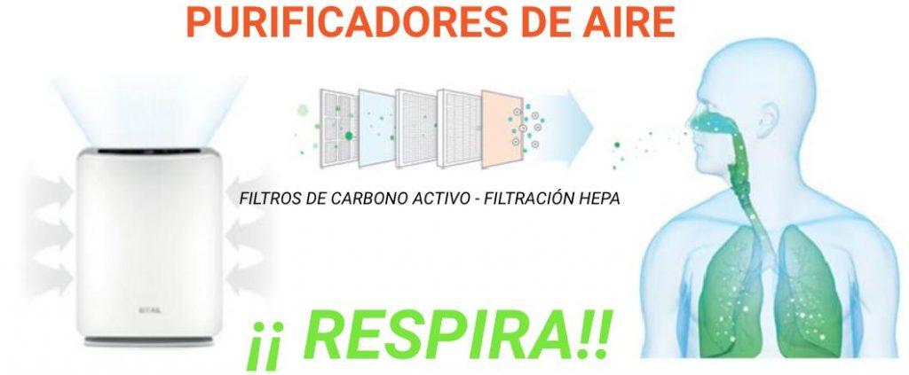 purificadores de aire respira entorno oficinas