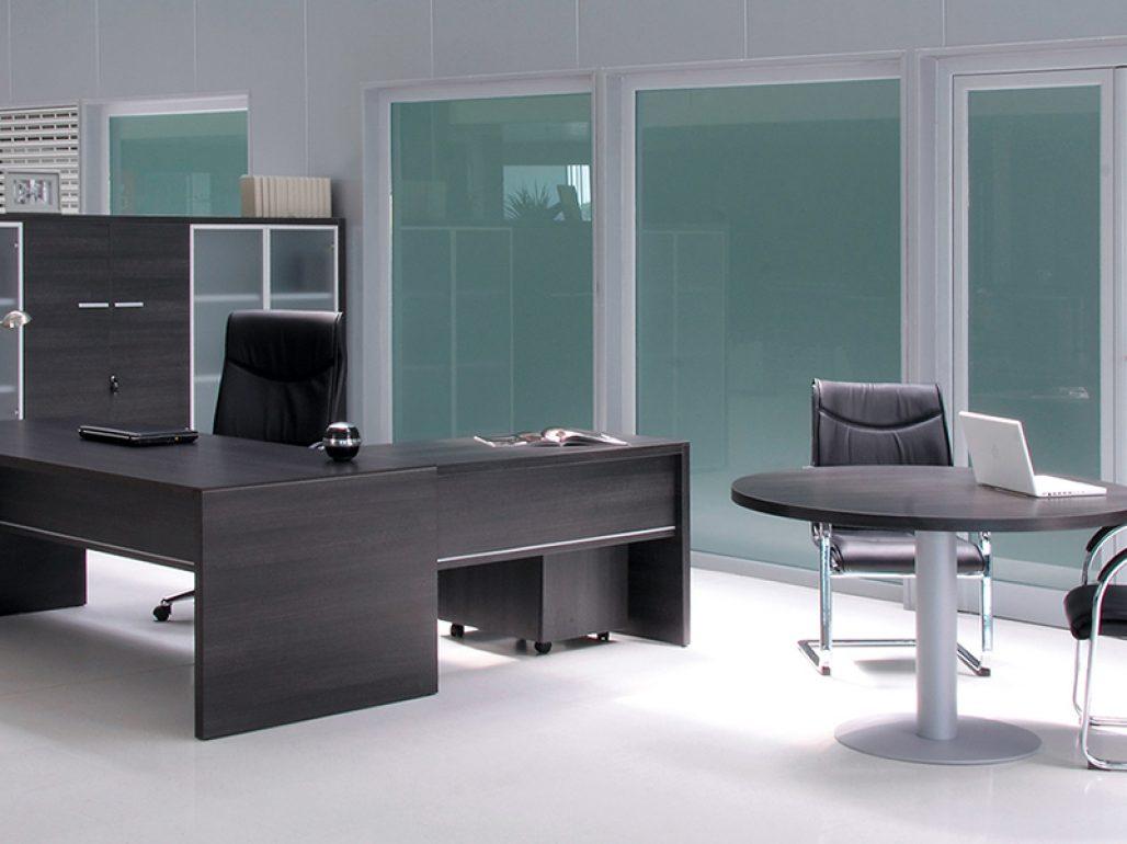 Mesas de dirección Pannel color ceniza